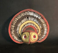 YAM MASK WITH PIERCING EYES, Abelam, PNG
