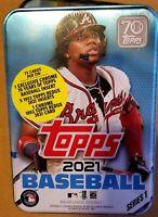 ✅⚾️🔥2021 Topps Series 1 MLB Baseball RANDOM Tin Trading Cards SEALED NEW