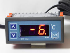 240V LED FRIDGE REFRIGERATOR TEMPERATURE CONTROLLER 30A THERMOSTAT COOLROOMS