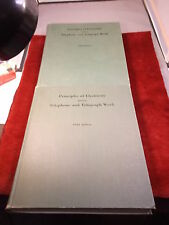 """VTG 1961 BOOK """"PRINCIPLES OF ELECTRICITY, APPLIED TO TELEPHONE & TELEGRAPH WORK"""""""