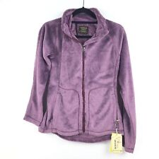Burton Mira Full Zip Fleece Jacket Women's Sangria Purple NEW MSRP $120 Large