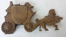 Solid Brass Horse Carriage Door Stop Royal Mail