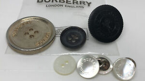 Burberry Metal Plastic Buttons