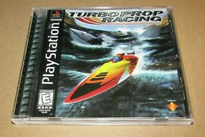 Turbo Prop Racing for Playstation PS1 Complete Fast Shipping