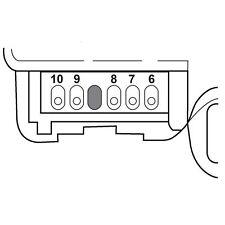 HVAC Heater Blend Door Actuator Right/Upper SANTECH STE MT18614