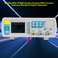 FY6800 2 Channel DDS Function Arbitrary Waveform Signal Generator 30/60MHz  BE