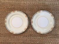 Old Noritake Made In Occupied Japan 2 Dinner Plates