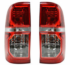 Pair Tail Lights Toyota Hilux 2005-2012 New Rear Lamps 05 06 07 08 09 10 11 12