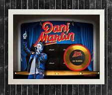 DANI MARTIN MI TEATRO CUADRO CON GOLD O PLATINUM CD EDICION LIMITADA. FRAMED