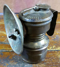 Antique Guy's Dropper Universal Lamp Co USA Made Miners Mining Carbide Light