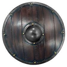Epic Armoury Wikinger Rundschild 69cm Mittelalterschild Mittelalter Schild LARP