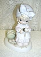 1995 Precious Moments Take Time To Pray Members Only Figurine