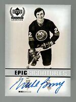 1999-00 Upper Deck Century Legends Epic Signatures Mike Bossy NY Islanders HOF