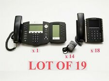 Polycom VVX400 SoundPoint IP650 IP VoIP Office Business Display Phone Lot 19