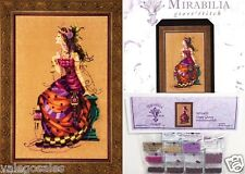 Mirabilia Cross Stitch Chart with Embellishment Pack THE GYPSY QUEEN #142E Sale