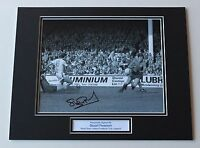 Stuart Pearson In West Ham United Shirt HAND SIGNED Autograph Photo Mount COA