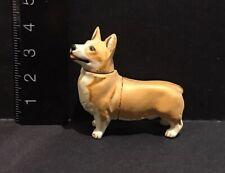 Kaiyodo Furuta Choco Q Pet Animal 2 Welsh Corgi Dog Figure
