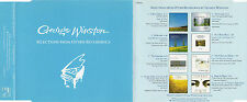 """GEORGE WINSTON """"SELECTIONS FROM OTHER RECORDINGS"""" PROMO CD SAMPLER WINDHAM HILL"""