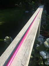 7' Mtk Pink 12/20 Med Action Fishing Rod Blanks #9 Tip 17mm But