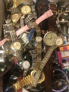 Watch Lot-Benrus, Lucerno, Citizen, Timex, Gruen, Parker & More - 77 Total Watch