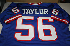 NEW YORK GIANTS #56 LAWRENCE TAYLOR CUSTOM JERSEY HOF 1999 SIZE XLG