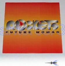 "ROCKETS ""FUTURE WOMAN / SPACE ROCK"" RARO 12"" MIX ITALY"
