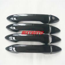 8x Sport Black Door Handle Cover Protector For Honda Accord 9th (Fits: Honda)