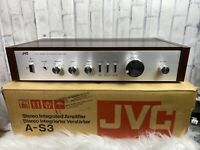Vintage 1978-1980 JVC Stereo Integrated Amplifier New/Open Box Rare Find
