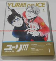 New Yuri on Ice Vol.1 First Limited Edition Blu-ray Booklet Cotton Bag Japan F/S