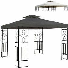 Pavillondach 3x3m Ersatzdach Wasserabweisend Dach für Pavillion mit Kamin