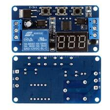 DC 12V Multifunction Self-lock Relay Cycle Timer Module Delay Time Switch Board