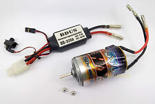 k066k- 1x 550 Brushed Motor with 320A ESC for RC 1:10 On/Off Truck Car, Boat