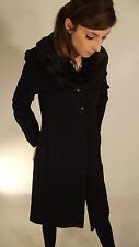 Button Fur Outdoor Coats & Jackets for Women
