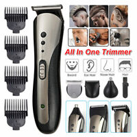 HOT Rechargeable Men Hair Clipper Shaver Trimmer Cordless Barber Salon lm468 USA