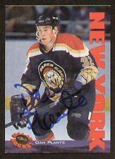 Dan Plante signed autographed Classic Hockey Card