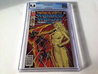 WONDER WOMAN 76 CGC 9.8 WHITE AWESOME FLAMING SKELETON COVER NEWSSTAND DC COMICS