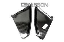 2008 - 2013 Suzuki GSX1300R Hayabusa Carbon Fiber Inner Side Panels - 2x2 twill