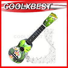 "NEW 21"" GREEN PARADISE UKULELE 12 FRETS 4 STRINGS UKELELE CHILDREN GUITAR"