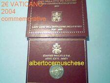 2 euro 2004 BU VATICAN en coffret Vatikan Vaticano Ватикан