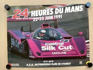 Affiche 24 heures du mans 1991