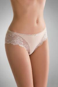 Damen Slip mit Spitze Unterwäsche Unterhose Panties Hotpants Dessous Gr. S-XL