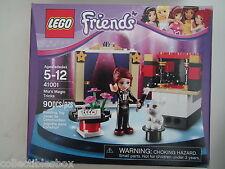 NEW! Lego FRIENDS Set 41001 MIA'S MAGIC TRICKS Sealed! Bunny Rabit Cards Flowers