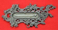 "Antique Bronze Thermometer. 9"" long.  (BI#MK/191221)"