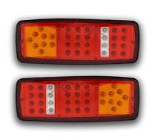2 x 12V LED Rear Tail Lights VOLVO SCANIA IVECO MAN DAF MERCEDES RENAULT FORD