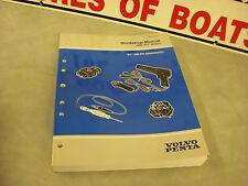 "1999 Volvo Penta Workshop Manual ""WT"" GM EFI DIAGNOSTIC #3850078 3-F-3"