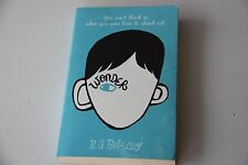 Wonder - Book by R J Palacio (Paperback, 2012)