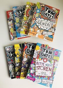 Tom Gates Bücher: Bd.1 - Bd.8