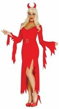 Disfraces de mujer de color principal rojo talla L, Halloween