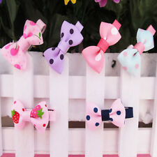 10pcs Clips Slides Hair Accessories Bows Snaps alligator for Girls Kids Children