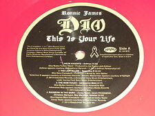 Ronnie James Dio : This is your Life - MADE IN USA - 2 LP red Vinyl Tribute